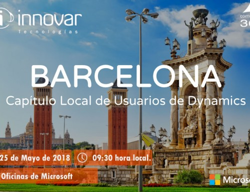 Capítulo Local de Usuarios Dynamics 365 Barcelona