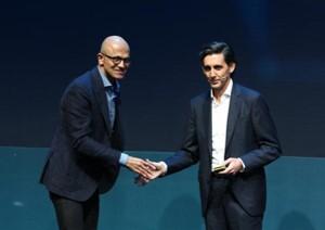Tecnología inteligente para transformar las redes: Microsoft y Telefónica, alianza estratégica