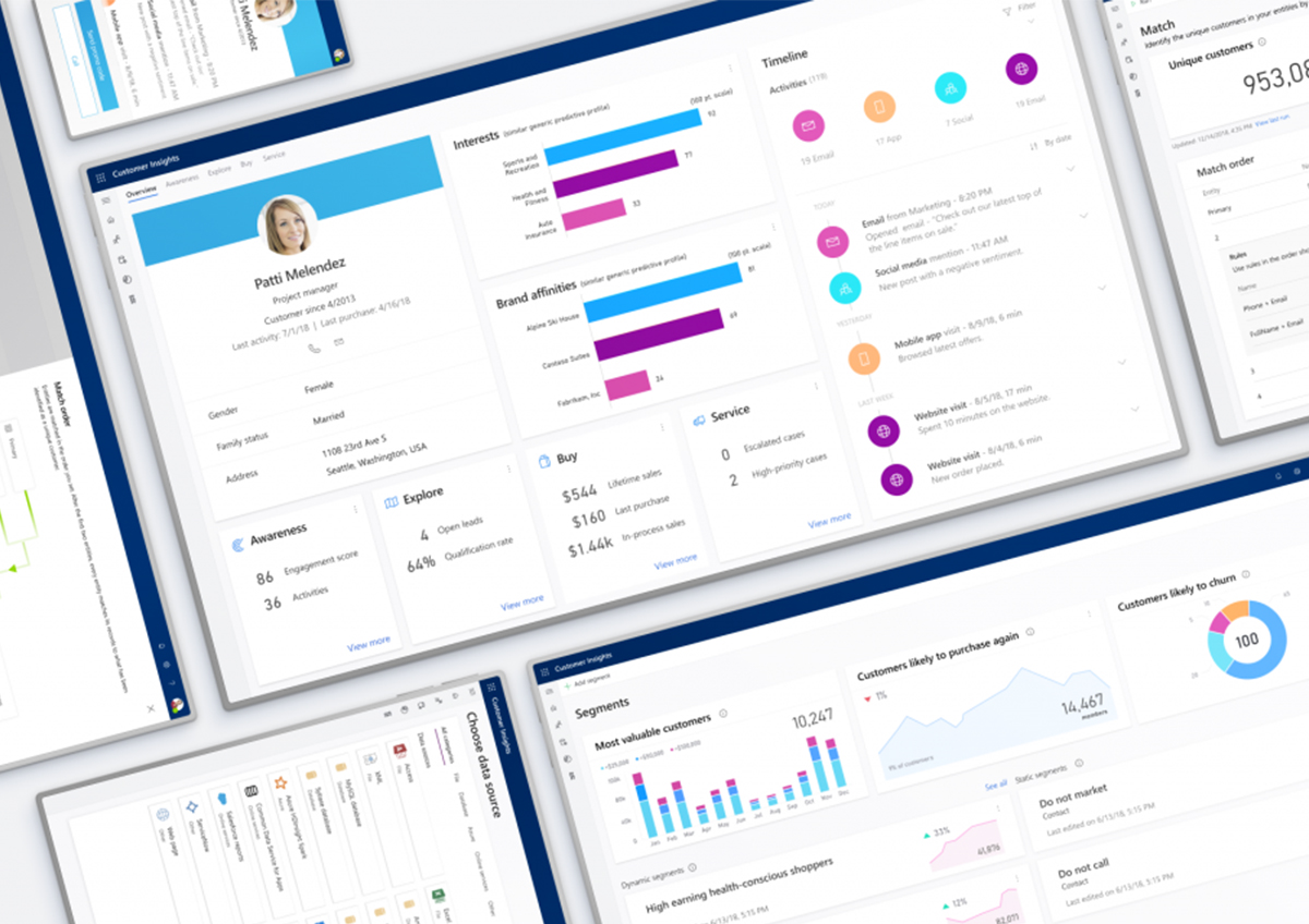 Dynamics 365 Customer Insights novedad en Dynamics 365 CRM