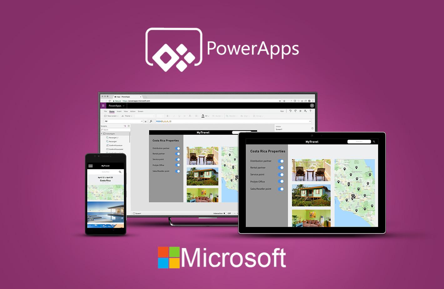 Microsoft PowerApps líder en plataformas de desarrollo