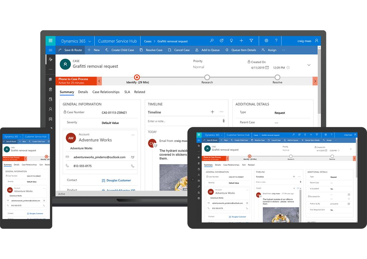 Nueva actualización de Microsoft Dynamics 365 abril 2019